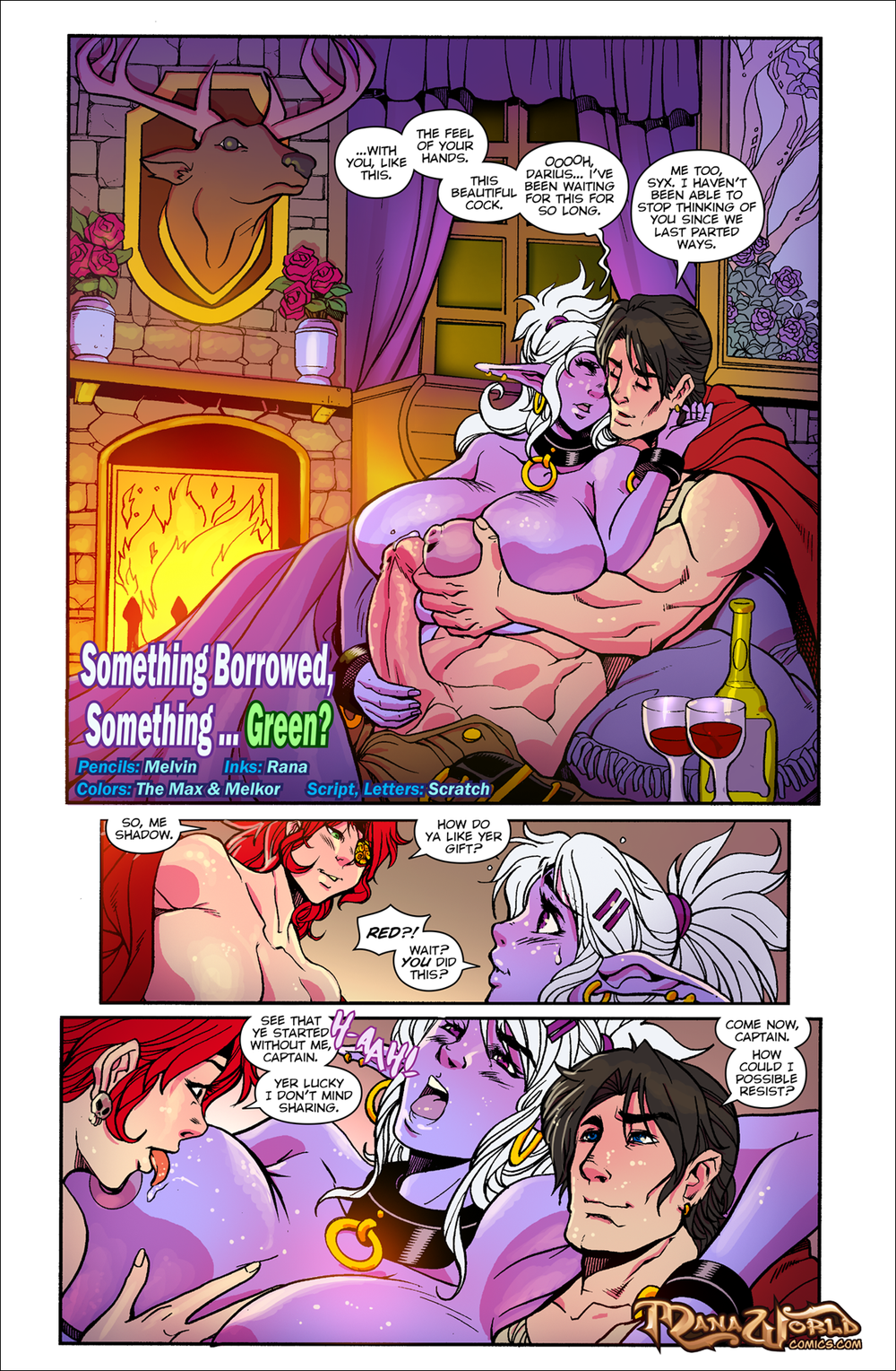 ManaWorldComics – Chapter 17 – Something Borrowed, Something Green