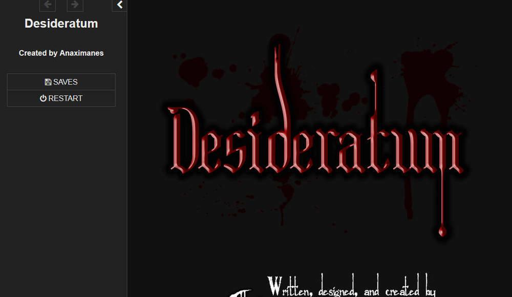 Desideratum – Demo Version