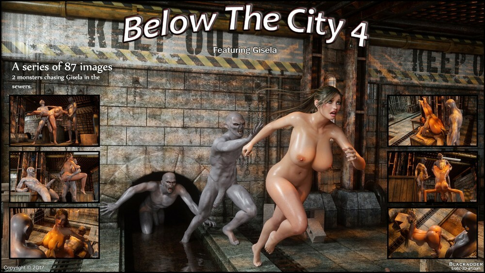Blackadder – Below The City 4