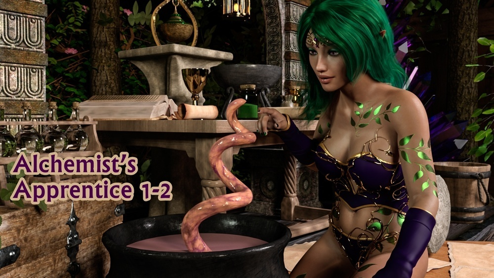 Naama – Alchemist's Apprentice 1-2