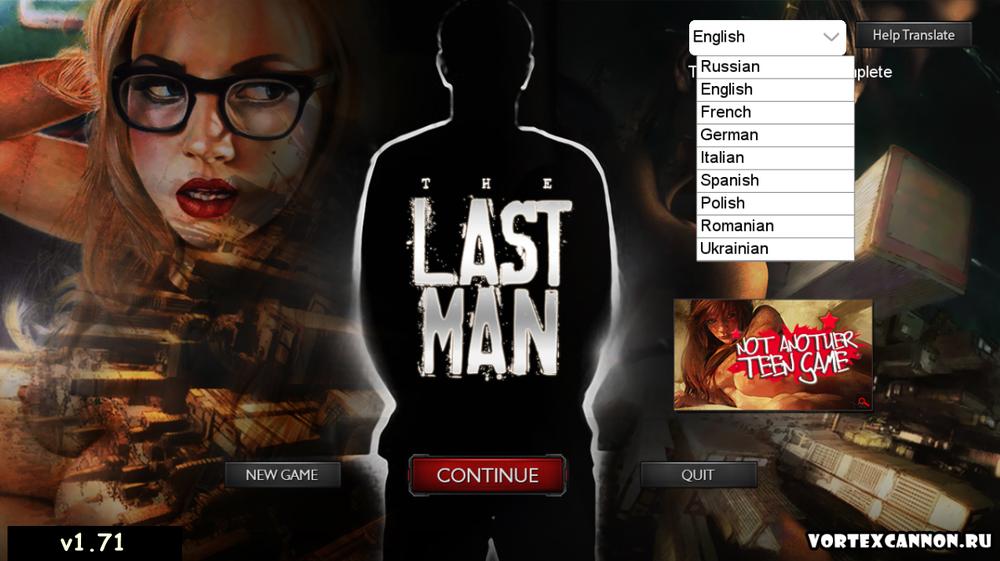 Last Man – Version 1.71 + Walkthrough – Update