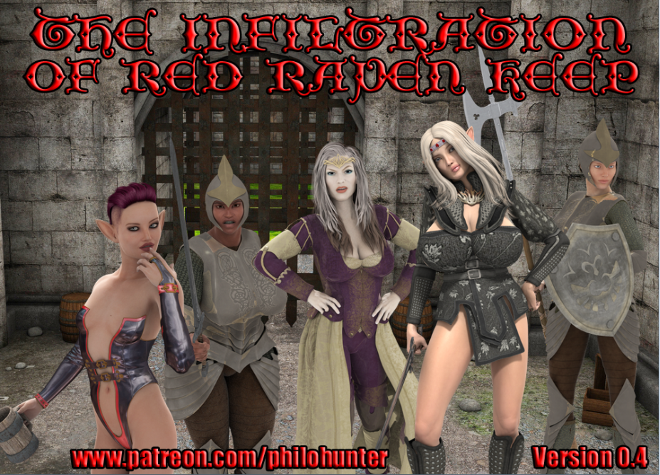Infiltration of Red Raven Keep – Version 0.4