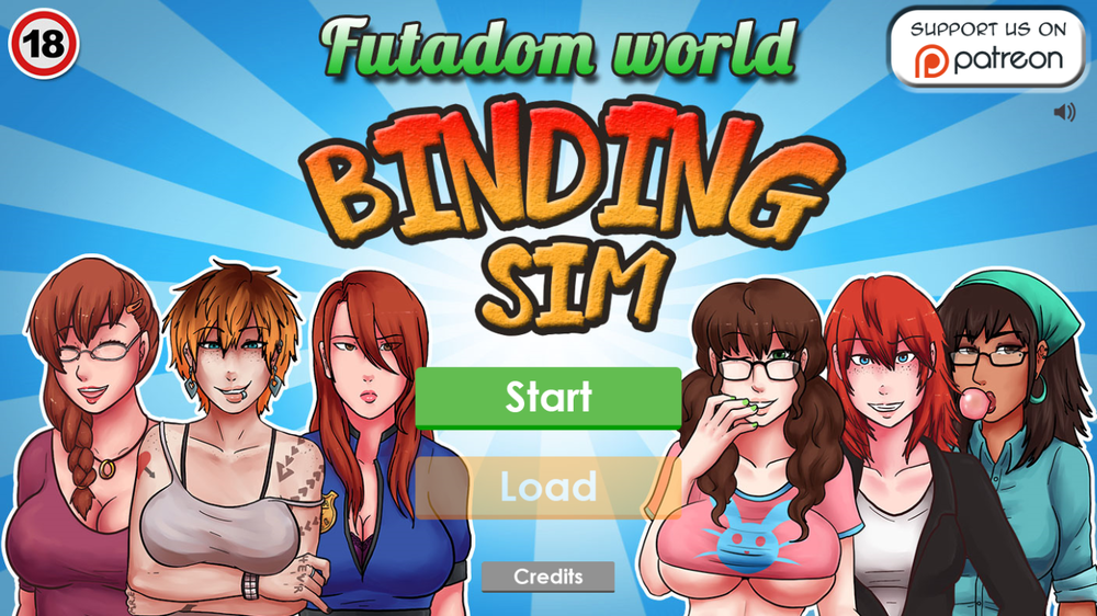 Futadomworld The Game – Binding Sim – Version 0.1a