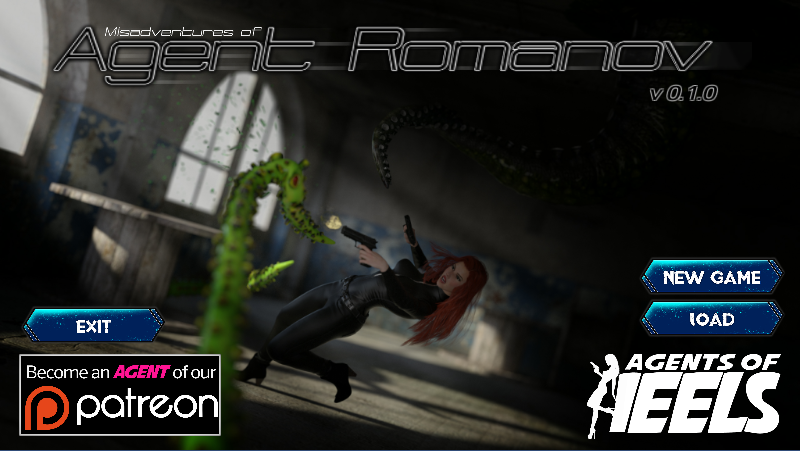Agents of Heels: Misadventures of Agent Romanov – Version 0.1.0 – Update