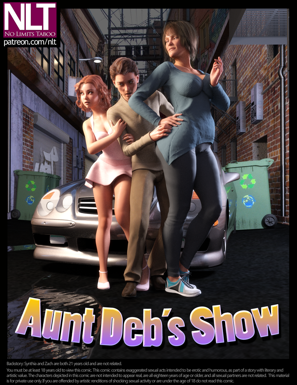 NLT Media – Aunt Deb's Show – Complete – 49 Pages