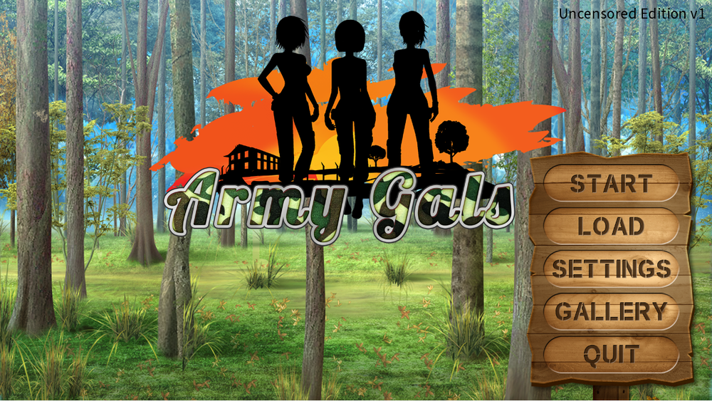 Army Gals – Full Game – Uncensored Edition – Update