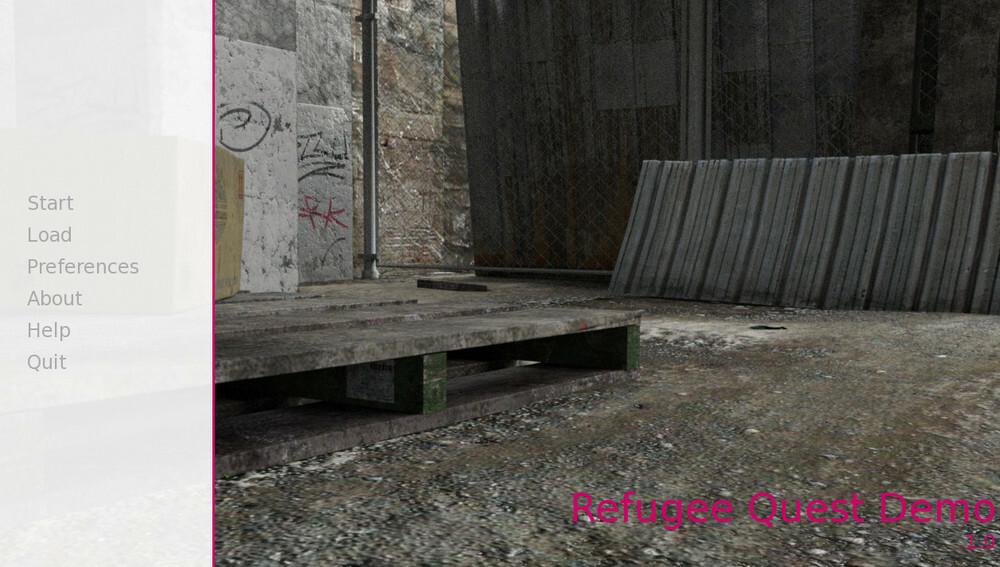 Refugee Quest – Version 0.1 Demo