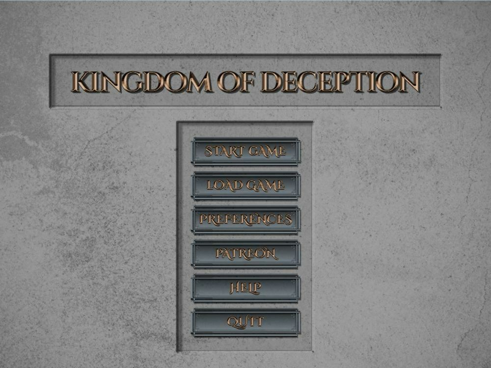 Kingdom of Deception – Version 0.1.2 – Update