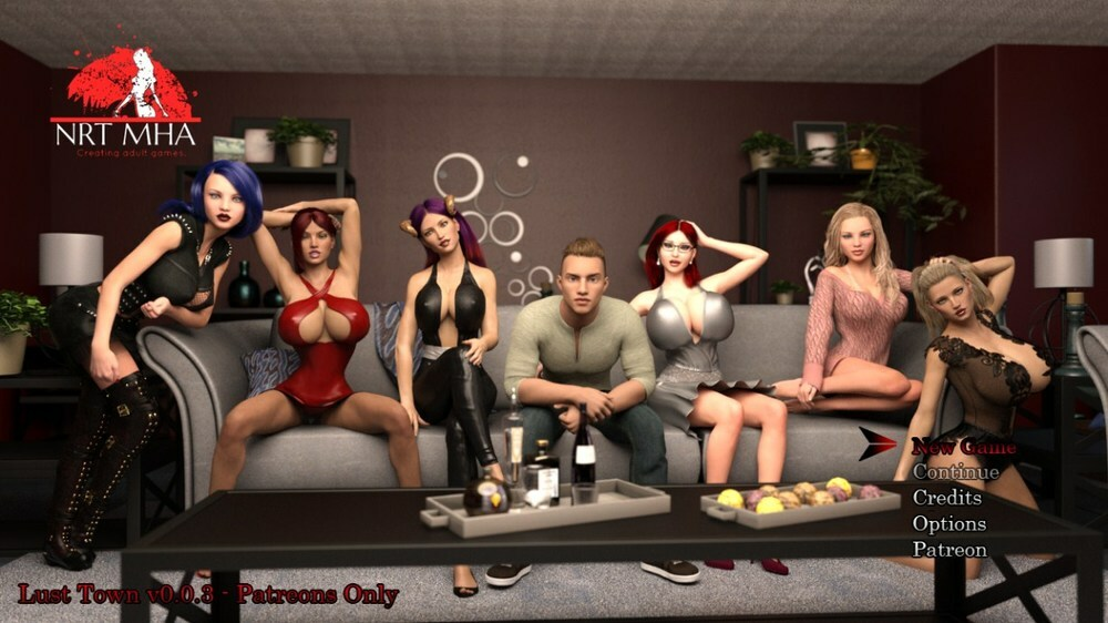 Lust Town – Version 0.0.3b – Update