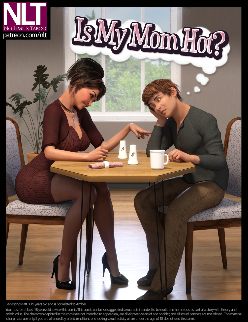 NLT Media – Is My Mom Hot? – Complete – 48 Pages