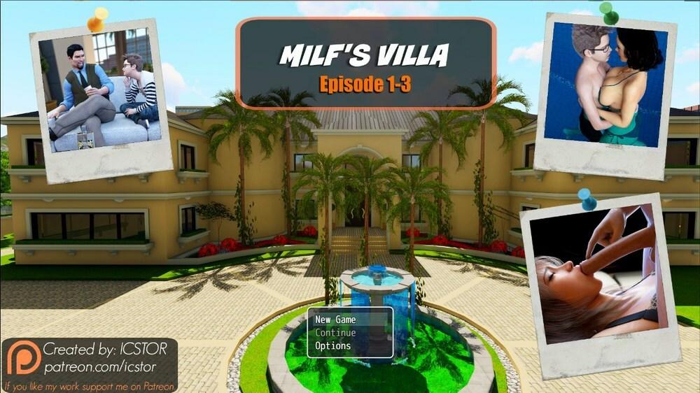 Milf's Villa – Episode 1-3 – Version 0.3c – Update