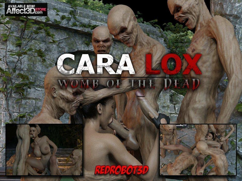 RedRobot3D – Cara Lox – Womb of the Dead