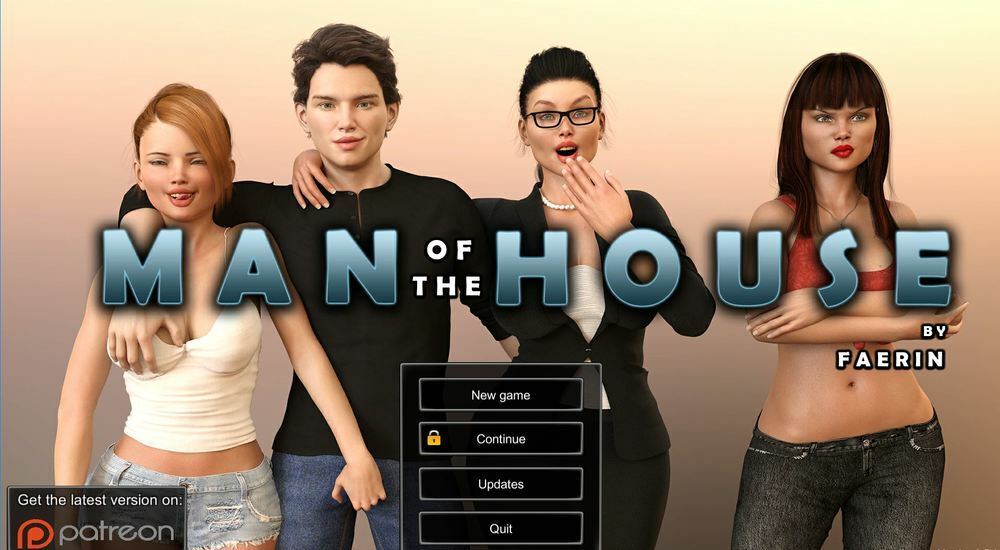 Man Of The House – Version 0.7.2 – Extra + Incest Patch – Update