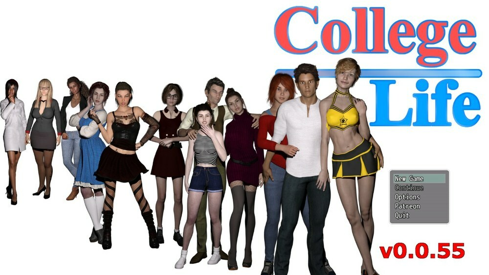 College Life – Version 0.0.55 – Update