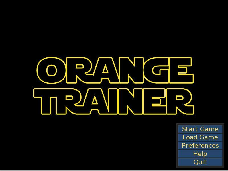 Orange Trainer – Version 0.3