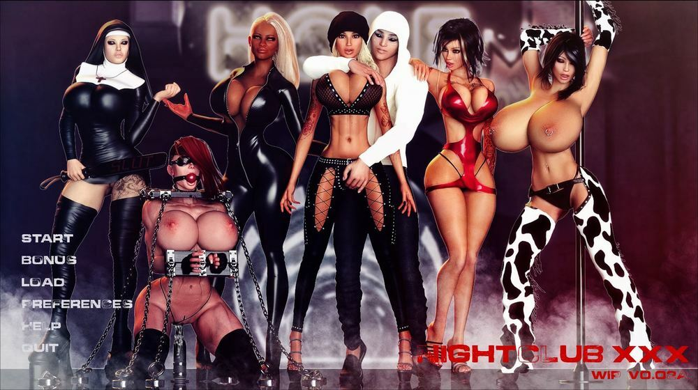 Nightclub XXX – Version 0.02a – Update