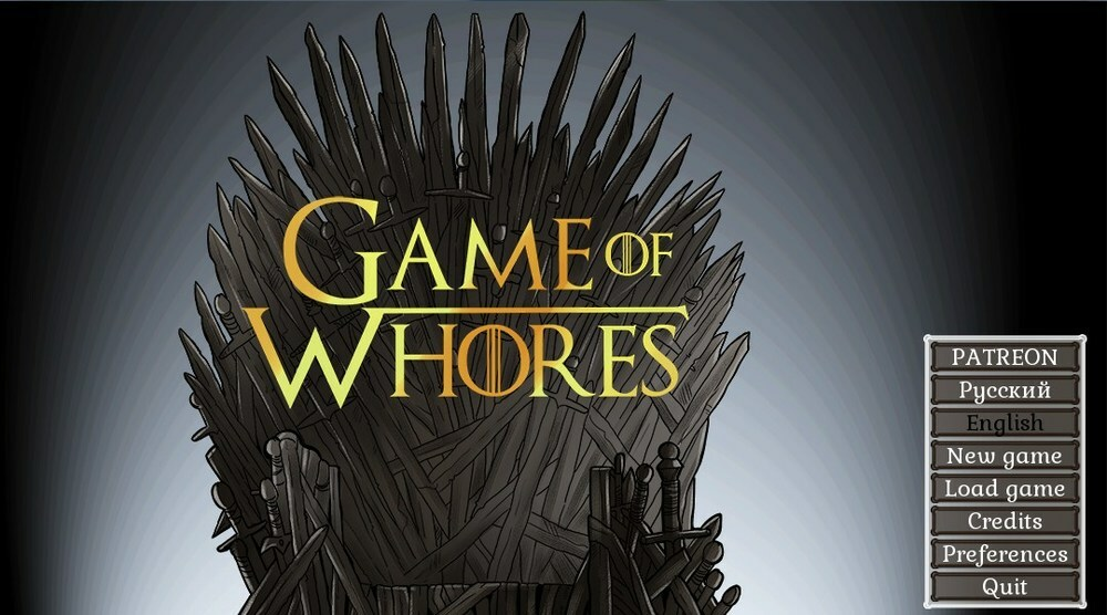 Game of Whores – Version 0.9.1 Reboot – Update