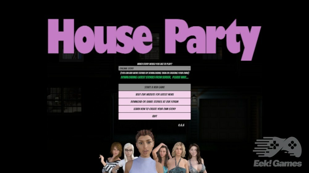 House Party – Version 0.9.3 – Update