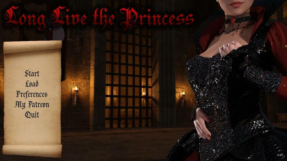 Long Live the Princess – Version 0.7.1 + Walkthrough – Update