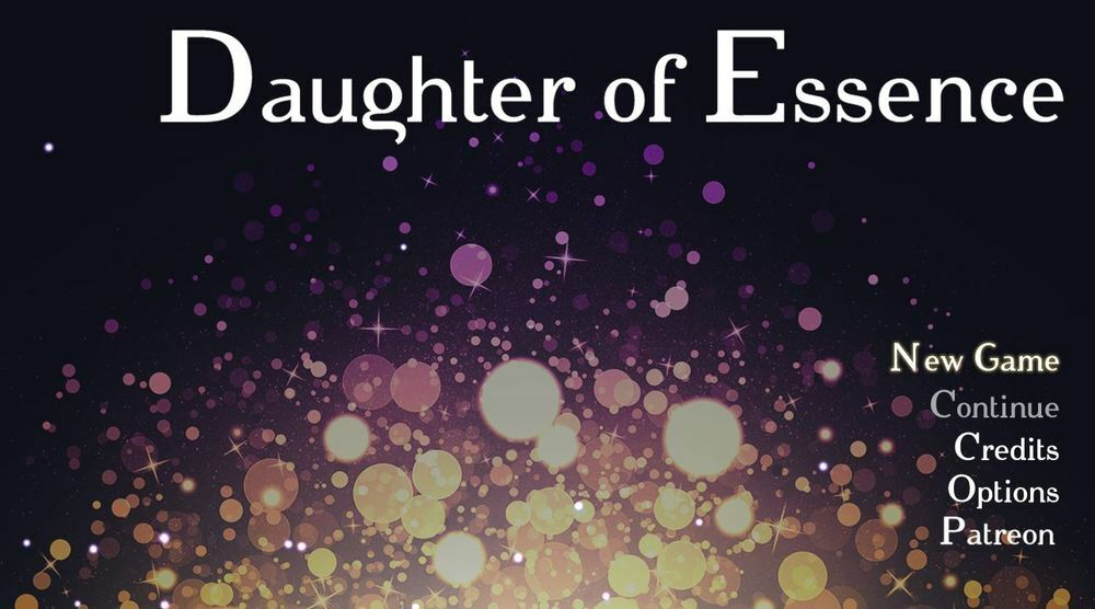 Daughter of Essence – Version 0.1a