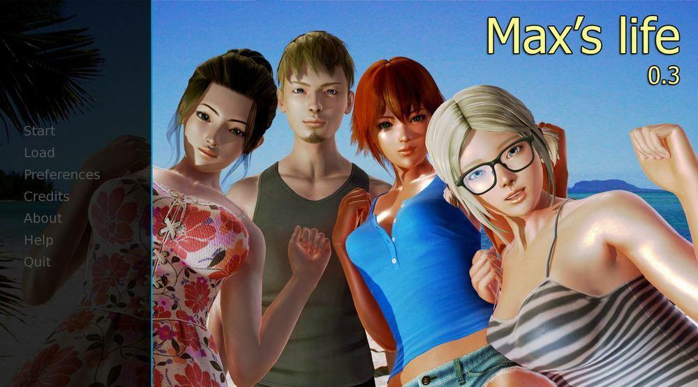 Max's Life – Version 0.3 – Update