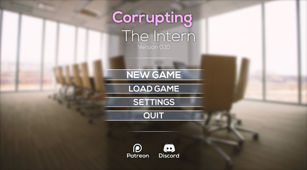 Corrupting The Intern – Version 0.13 – Update