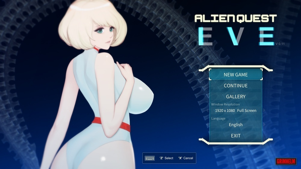 Alien Quest: Eve – Version 0.11B