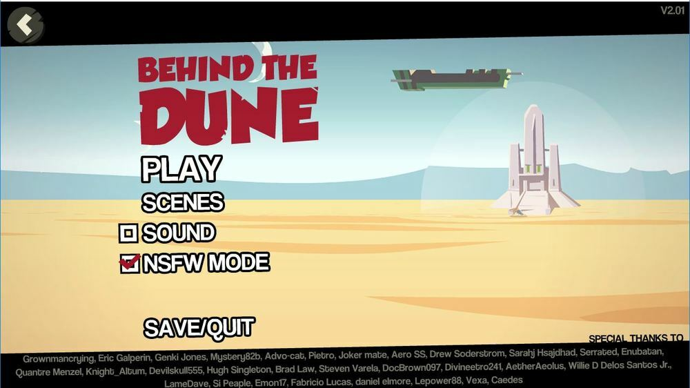 Behind the Dune – Version 2.62 – Update