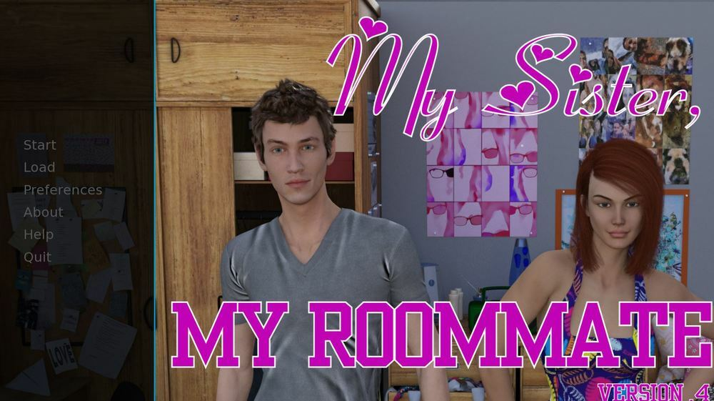My Sister, My Roommate – Version 0.8 + Incest Patch – Update
