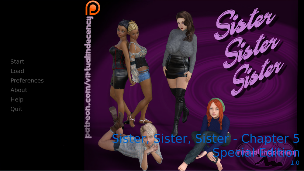 Sister, Sister, Sister – Chapter 5 SE Fix – Update
