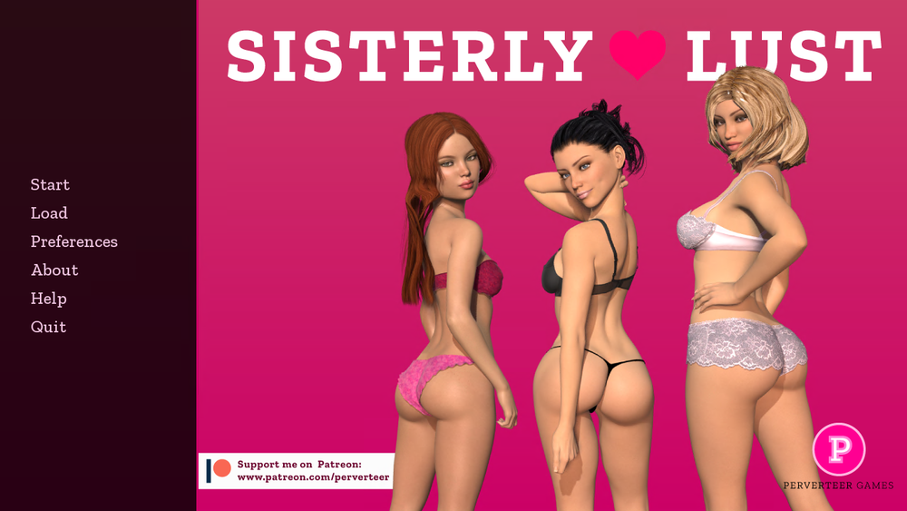 Sisterly Lust – Version 0.13 Extra Scenes + Incest Patch & Walkthrough – Update