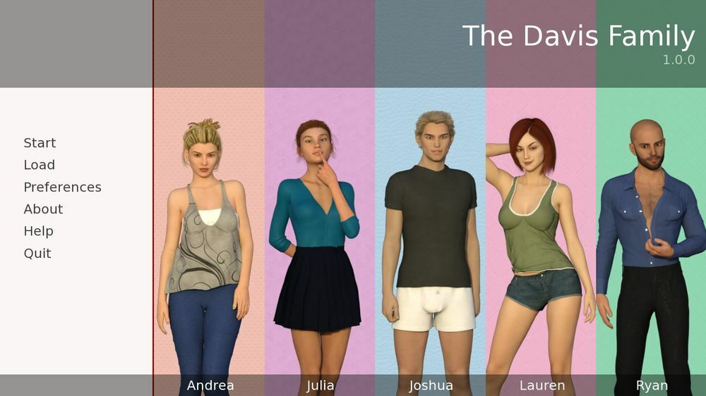 The Davis Family – Version 1.0.0