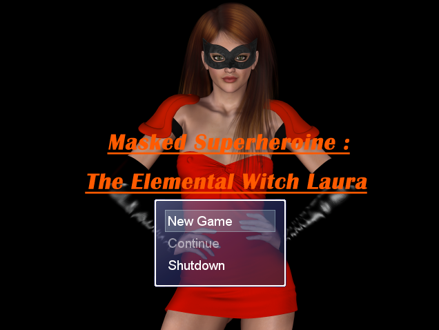 Masked Superheroine: The Elemental Witch Laura – Version 0.01