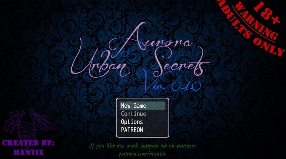 Aurora: Urban Secrets – Version 0.1.0