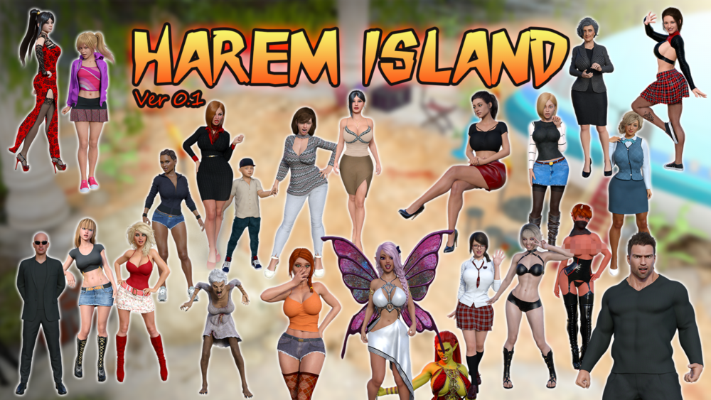 Harem Island – Version 0.7e – Update