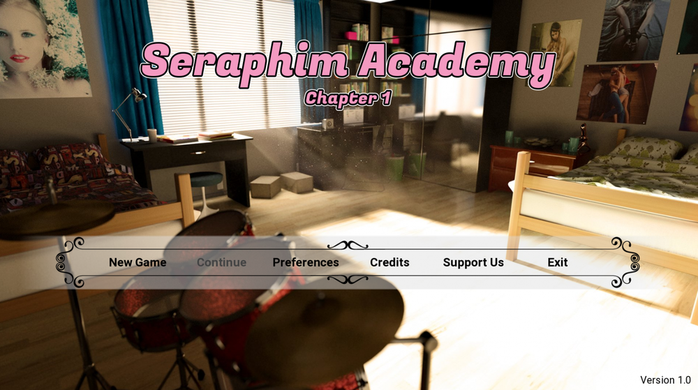 Seraphim Academy – Ch1-3
