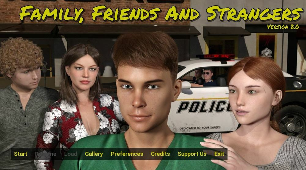 Family, Friends and Strangers – Version 3.0