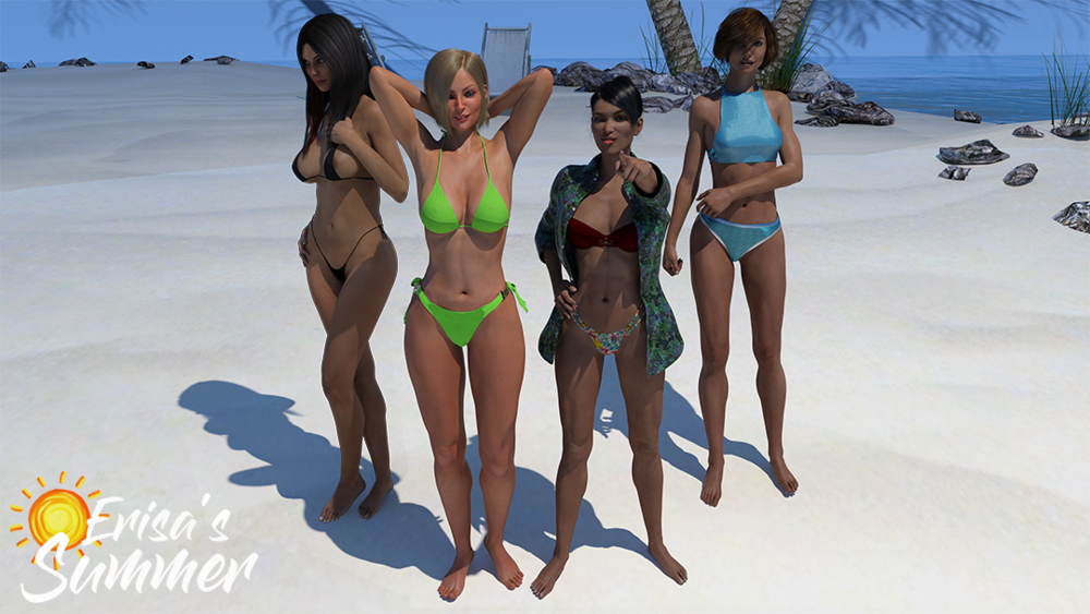 Erisa's Summer – Version 0.1.1